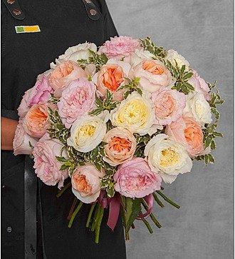 """Букет из английской розы """"David Austin"""" (21, 35 или 51)"""