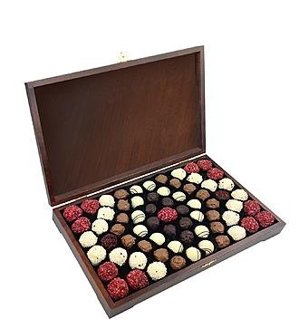 """Конфеты ручной работы из бельгийского шоколада """"Трюфельные узоры"""""""