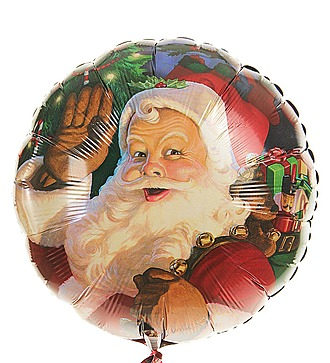 """Воздушный шар """"Новый Год и Рождество"""" (45см)"""