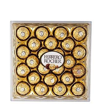 Шоколадные конфеты Ferrero Rocher подарочная упаковка, 300 г.