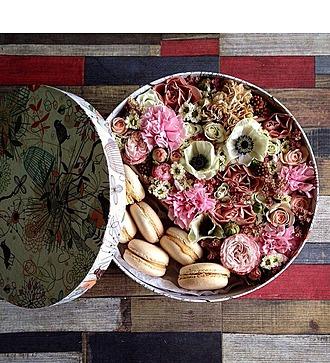Коробка с цветами Тихий вечер