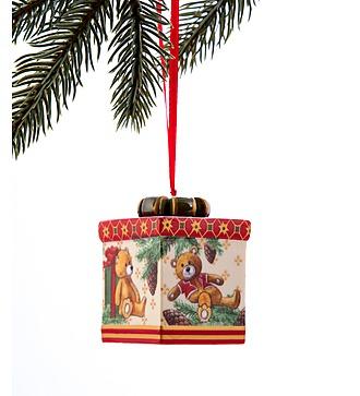 """Елочное украшение """"Подарок"""" Villeroy&Boch (Франция)"""