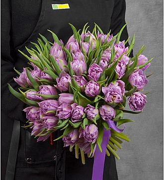 Букет из пионовидных тюльпанов Double Price (25, 51 или 101)