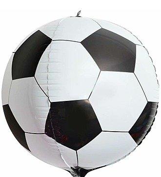 """Воздушный шар """"Футбольный мяч 3D"""" (61 см)"""
