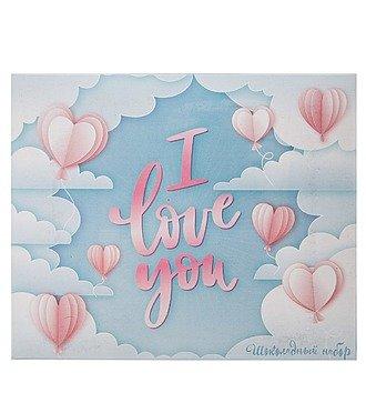 """Шоколадный набор """"I love you"""""""