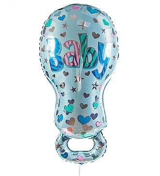 """Воздушный шар """"Соска для мальчика"""" (81 см)"""