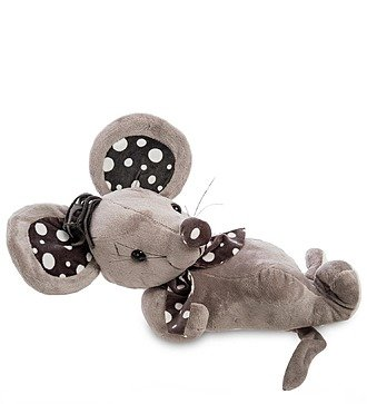 """Мягкая игрушка """"Мышонок с платочком"""""""