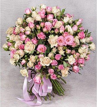 "Букет ""Тихая гавань"" (25, 35, 51 роза)"
