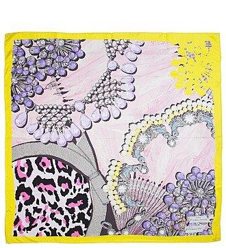 Шелковый платок Christian Dior (Италия, 90х90 см)