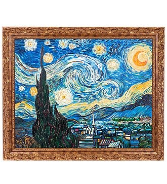 "Картина В. Ван Гога ""Звёздная ночь"" (110х90см.)"