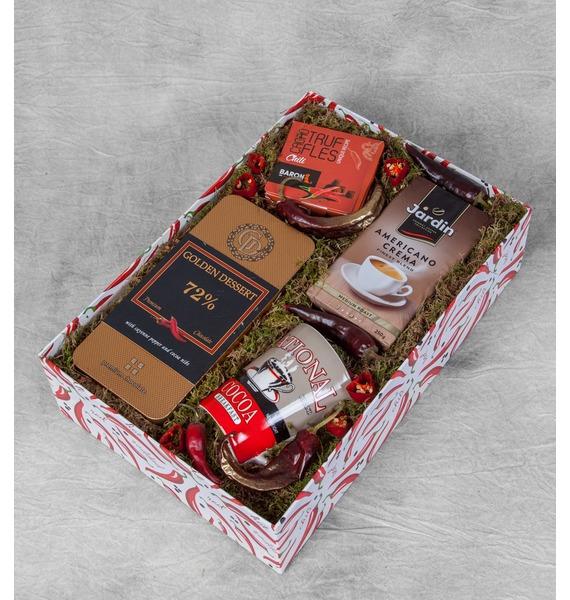 Подарочная коробка Острые ощущения коробка подарочная бант 20х10х5 5 см