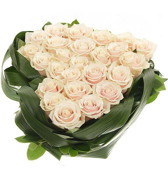Композиция Нежно любимой (25 или 51 роза) – фото № 3