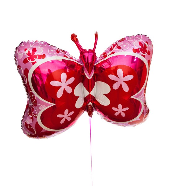 Воздушный шар Бабочка (81см) воздушный шар qp 2 0431