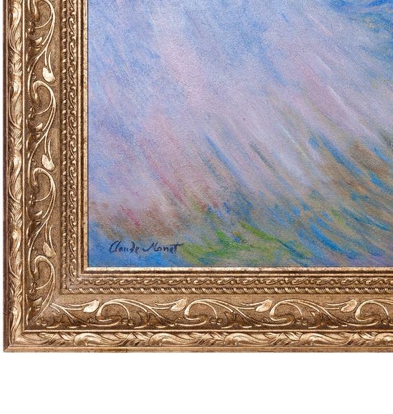 Картина К. Моне Водяные лилии (95х75см.) – фото № 3