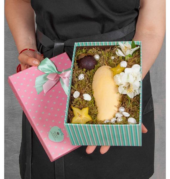 Подарочная коробка Сочный фрукт комплект супербокс wreck this journal подарочная коробка