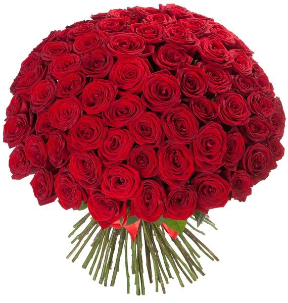 Букет из 101 розы Царский подарок – фото № 2