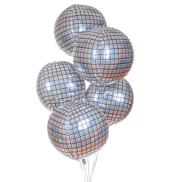 Букет шаров Дискотека (5 или 9 шаров)