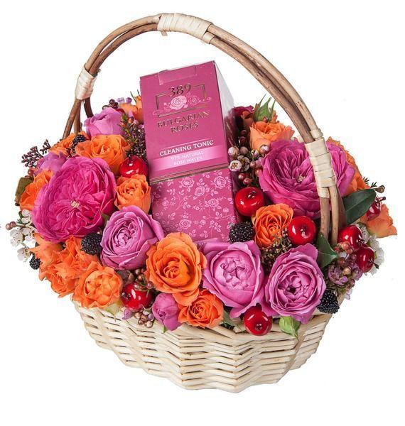 Композиция Аромат розы ковш idea деко розы 1 5 л