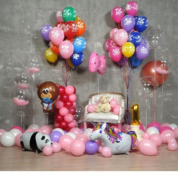 """Оформление шарами """"Для принцессы!"""""""