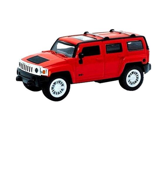 Коллекционная модель автомобиля Hummer H2 Красный