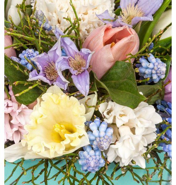 Композиция в вазе Весенние цветы – фото № 5