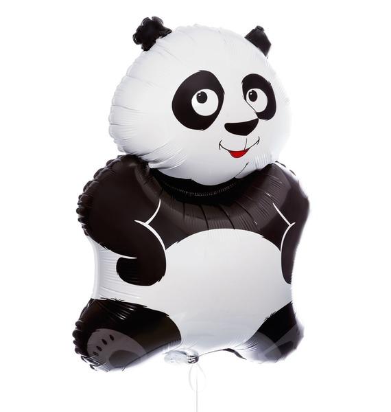 """Воздушный шар """"Веселая панда!"""" (84см)"""