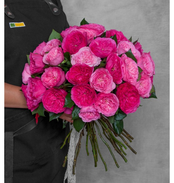 Букет из пионовидных роз Для самой красивой!
