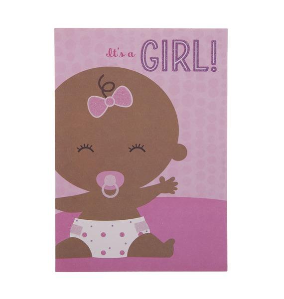 """Открытка ручной работы """"Its a girl!"""""""