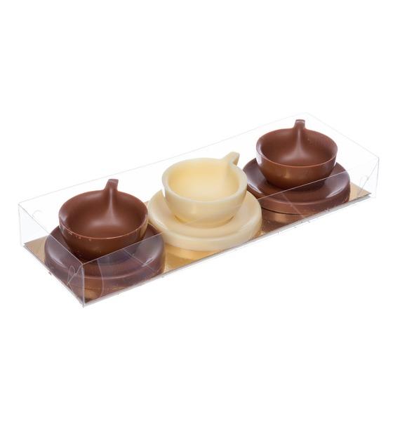 Шоколадная фигурка Чашечки шоколадная фигурка заяц 60 г