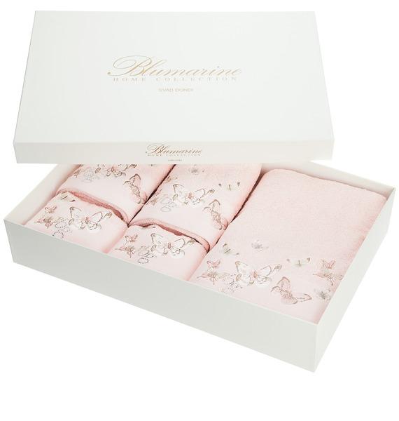 Комплект из 5 полотенец Настроение лета (розовый) – фото № 1
