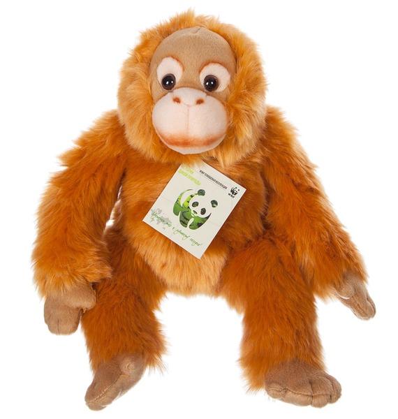 """Мягкая игрушка """"Орангутан WWF"""" (23 см) цена и фото"""