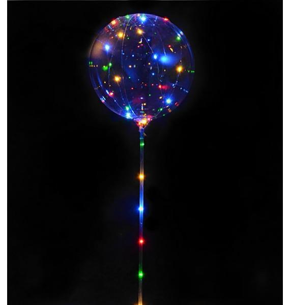 цена Светящийся шар (38 см) онлайн в 2017 году