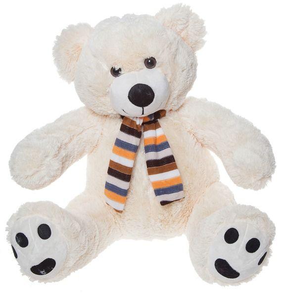 Мягкая игрушка Медведь в шарфе (60 см)