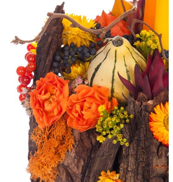 Подарочное кашпо Теплая осень – фото № 3