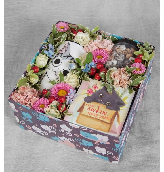Подарочная коробка Любимой кошечке – фото № 1