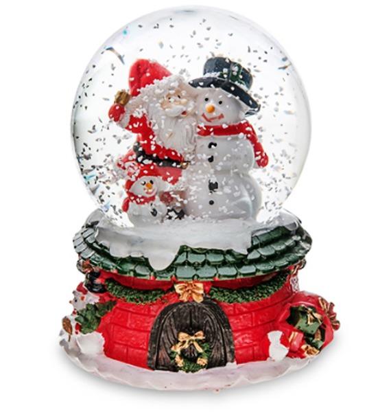 Музыкальный шар с подсветкой и снегом Рождественское Чудо юрий меркеев рождественскоечудо для семейного чтения