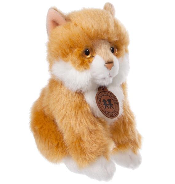 Мягкая игрушка Сибирский рыжий котёнок (15 см) цена