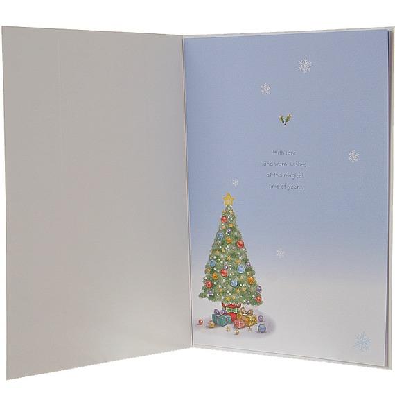 Открытка Кому-то особенному в Рождество в конверте (Hallmark, Англия) – фото № 2