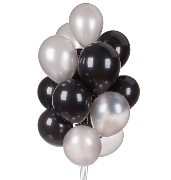 Букет шаров Контраст (15 или 31 шар) букет из гортензии 31 или 61