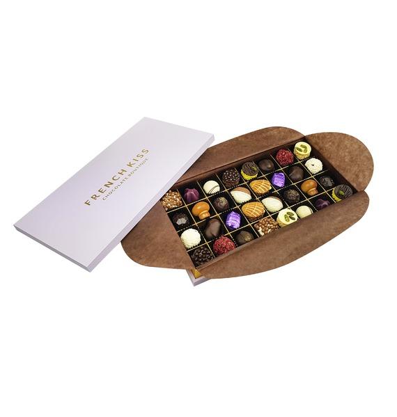 Конфеты ручной работы из бельгийского шоколада Монтиньи merci набор конфет ассорти из шоколада с миндалем 250 г