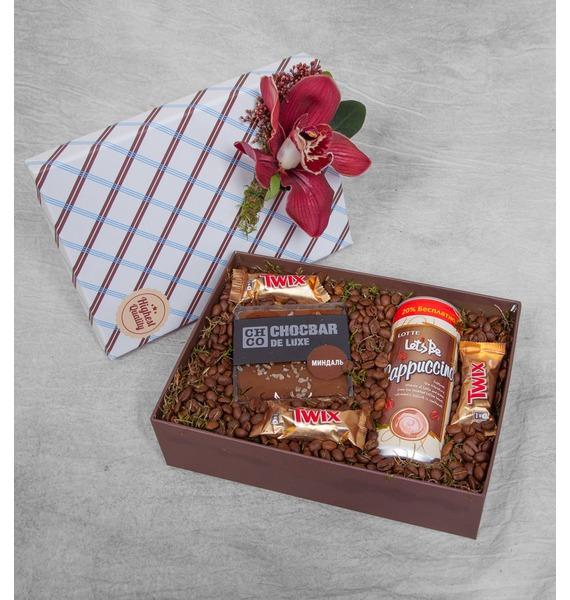 Подарочная коробка Доброе утро подарочная коробка острые ощущения