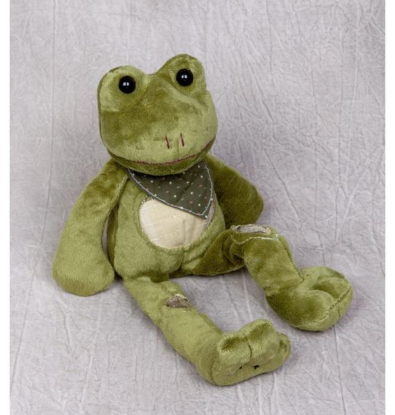 Мягкая игрушка Лягушка Дэйв (18 см) мягкая игрушка бульдог 18 см