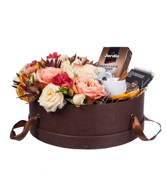 Подарочная коробка Кофейный аромат – фото № 4