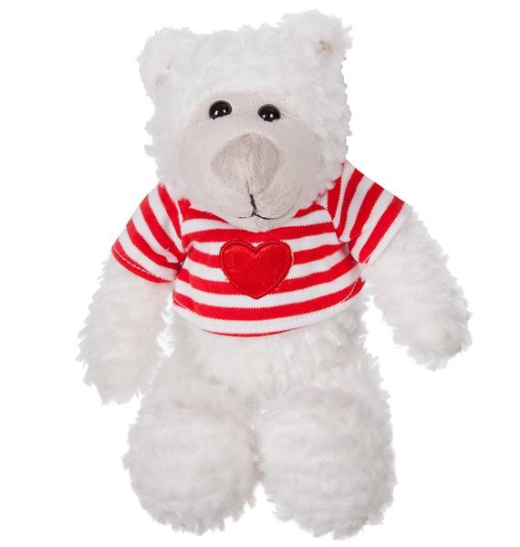 Мягкая игрушка Мишка Вилли в полосатой футболке (27 см) moomin мягкая игрушка фрекен снорк 27 см