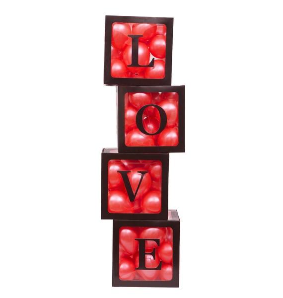 """Оформление шарами """"Love"""""""
