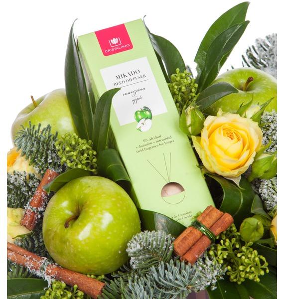 Подарочная коробка Яблочный аромат – фото № 2