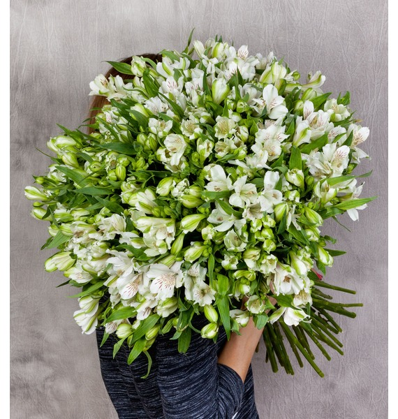 Bouquet Brilliant (25, 51 or 101 alstroemeria) – photo #1
