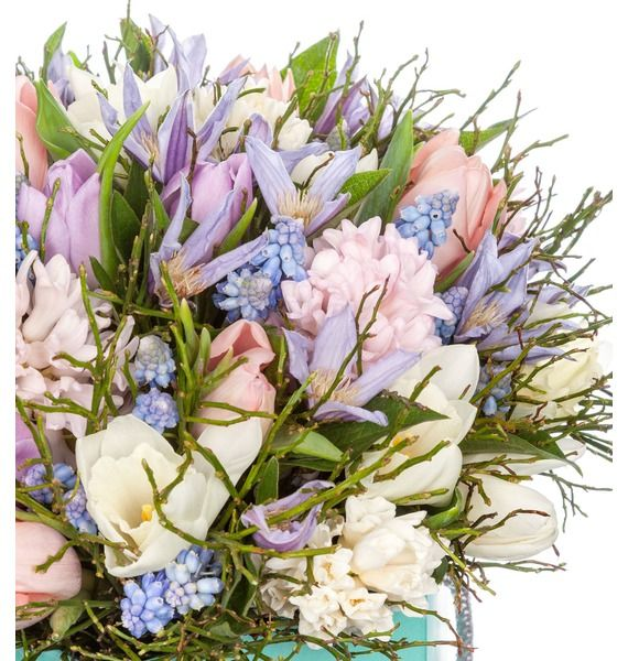 Композиция в вазе Весенние цветы – фото № 4
