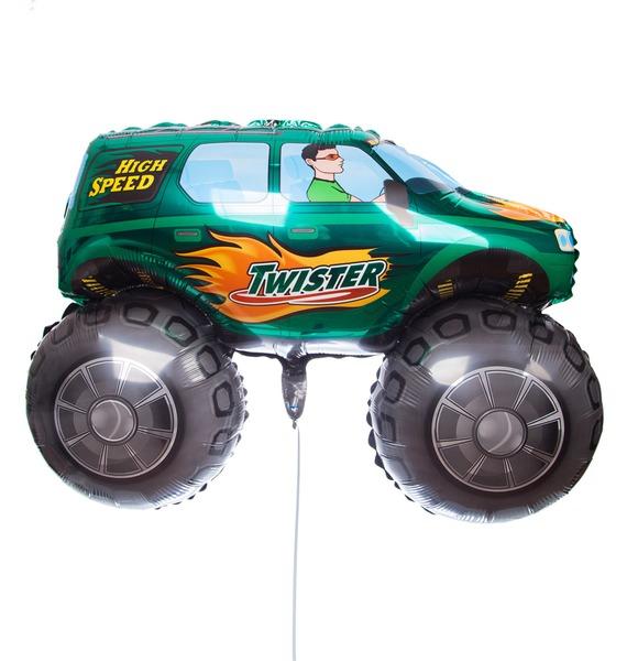 Воздушный шар Бигфут (Зеленый, 97 см) воздушный шар трактор 69 см