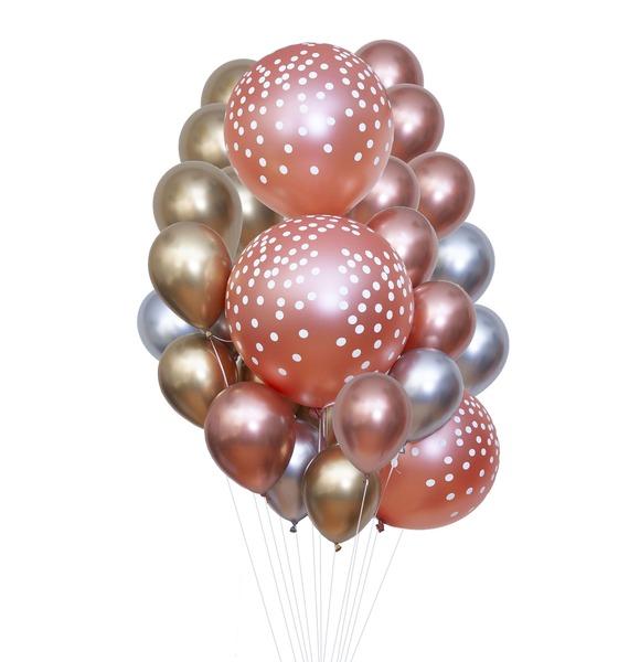 """Букет шаров """"Воздушное путешествие"""" (25 или 51 шар)"""